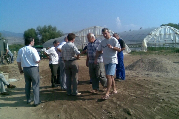 Treffen zum Bohrbeginn im September 2008  .jpeg